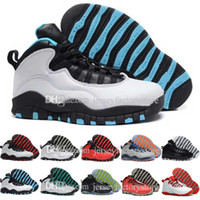 2017 Retro 10 Basketball Shoes Homens Blue Air Retros 10s X Masculino Sport Femme Homme China Brand Athletic Training Sneakers Shoes US 8-13