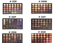 p d - 2017 NEW color Natural Matte Eyeshadow palette O A B C D E F N P T W version