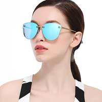 Wholesale Sun Protection Film - High Quality Designer Sunglasses For Women With Polarized Sunglass Color Film Luxury Brand Sun Glasses Woman Traveling Rays UV400 Protection