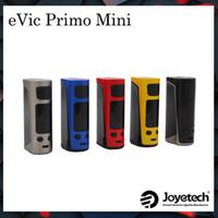Wholesale E Cigarette Evic - Authentic Joyetech Evic Primo Mini Battery Kit Box Mods Vape 80W Power 2A Quick Charger TC VW E Cigarette Match ProCore Aries Atomizer