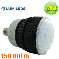Wholesale Nature Workshop - 480V LED Retrofit 120W E39 Mogul Base Warehouse Light Bulbs 347V Replace 400Watt Metal Halide High Bay Workshop Factory Garage 200-500VAC