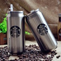 Wholesale Coffee Mug Sleeve - Creative Coke Cans Insulation Cup Starbucks Coffee Cups Stainless Steel Durable Keep Warm Drink Mug Drinking Water Bottles High Quality 11rp