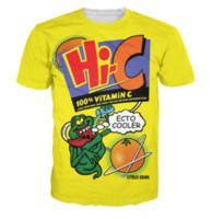 40f0e8d3 Newest Fashion Mens Womans Ecto Cooler Orange Hi-C Citrus Drink Summer  Style Tees 3D Print Casual T-Shirt Tops Plus Size