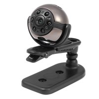Wholesale hidden car security cameras - 32GB memory 1080P Infrared Night Vision Mini DV 360 Degree Rotation Spy Hidden Camera Voice Video Recorder Car DVR Home Security DV PQ191