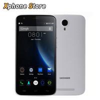 rádio do telefone do bluetooth da porcelana venda por atacado-Original Doogee Valencia 2 Y100 Além de Android 5.1 5.5 polegada 4G LTE 16 GB + 2 GB Smartphone MTK6735 Quad Core OTG Loja de Reprodução celular