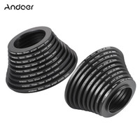 Wholesale Step Up Down - Wholesale- Andoer 18pcs 37-49-52-55-58-62-67-72-77-82mm Step Up   Step Down Aluminum alloy Lens Filter Adapter Ring Kit