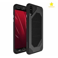 Wholesale armor cellphone - For iPhone 8 Plus iPhone X Samsung S8 Plus Note 8 2 in1 Anti-Fall Protection Shockproof Armor Hard TPU PC Cellphone Cover Cases