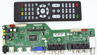 Wholesale Hdmi Board Lcd - Free Shipping 1Pcs Lot Universal LCD TV Controller Driver Board T.VST59S.21 HD Dual HDMI USB Drive Board Support 24-65 Inch LVDS