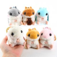 Wholesale Amuse Plush - 10cm Japan Cute Amuse Stuffed Plush Toys Soft Loppy hamster stuffed doll Hamsters plush toy for children best gifts pendant