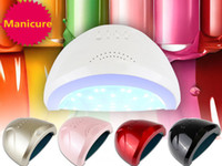Nail Dryer luce bianca professionale 48W Lampada UV LED UV intelligente di induzione essiccatore polimerizzazione del gel Gel LED Nail Art Selection Tool Multi-Color