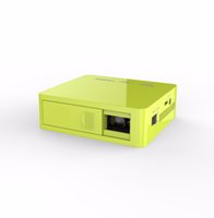 Wholesale Video Projects - Wholesale- YANHUO UC50 Mini Projector Portable Project LED Projector Support TF card Hd 1080p Video Short Focal Projector