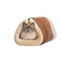 Wholesale Dog Sleeping - Cat Tunnel Kennel Cat Sleeping Bag Dog Kennel Cat Litter Pet Litter Dog Kennel Pet Supplies Folding pet Waterloo