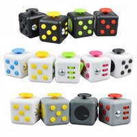 Wholesale Cheap Plastic Cubes - Cheap Popular Fidget Cube New Popular Decompression Toy Fidget Cube the World's First American decompression Anxiety Toys Free Shipping