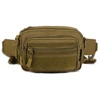 ausrüstung für militär großhandel-Großhandel Männer Im Freien Taktische Gürteltasche Militärausrüstung Taille Tasche Wasserdichte Beinbeutel Hüfttaschen Kostenloser Versand