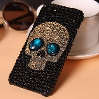 Wholesale S Minion Cases - Minion diamond fox head phone cases rabbit fur hair phone cover for Samsung Note5 S 6 7 8 6 7edge 8 PLUS