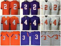 Wholesale Scott Jersey Short Yellow - 2017 Finals Patch All Stitched Men College Clemson Tigers Jerseys 2 Sammy Watkins 3 Artavis Scott 4 Deshaun Watson Champions Orange Purple
