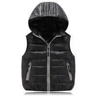 Waistcoat organic baby clothes brands - Children Clothing Winter Outerwear Coats Animal Graffiti Thick Princess Child Vest Hooded Kids Jackets Baby Child Warm Waistcoat