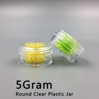 Wholesale Wholesale Cosmetic Bottles For Creams - 5ML Plastic Cosmetic Container Jar With Clear Lid 5Gram Mini Empty Pot For Eyeshadow Lip Balm Nails, Powder, Beads, Jewelry Cream Wax Bottle