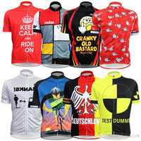 Tops Quick Dry Unisex 8 Style Cartoon Cycling Jerseys Short Sleeves 2017  Cycling Tops Quick Dry e6ae210fb364f