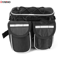 Wholesale insulated tube - YANHO Bicycle bags Cycling Packet Bag with Reflective Stripe Outdoor Tool 3 Packets   set Bicycle Accessories Foldable Bag +B