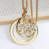 Wholesale Magnifying Glass Gold - Magnifying glasses Magnifying glass for reading Magnifying glass necklace women's fashion Magnifier necklace
