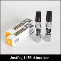 Wholesale Clearomizer Fashion - Ultimate Justfog 1453 Atomizer South Korea Ultimate 1.6 ml Fashion Design clearomizer 1453 atomizer VS CE4 Atomizer