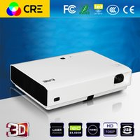 Wholesale Cheapest Laser Projector - Wholesale-Cheapest cre x3000 3000 ANSIlumen full HD 1080p android wifi LED laser video projector,perfect home theater business projector