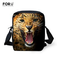 Wholesale Fashionable Mobile Phones - Wholesale- 2016 Fashionable Animal Leopard Spanish Bag Women's Messenger Bags Small Girls Cross-body Mobile Shoulder Bag for Kids Children