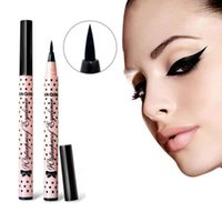 1 PCS HOT Women Black Eye Liner Cosmetics Not Dizzy Waterproof Liquid Eyeliner Долговечный карандаш Make Up Cute Tool