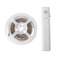 capteurs dc achat en gros de-Garde-robe à LED PIR Motion Light Strip sans fil à piles sous le lit LD1005-SZ LD1006-SZ