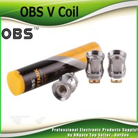 Wholesale Coil Heads V - Authentic OBS V Coil Head V4 V8 V10 V12 Replacement Coil For OBS V Tank 100% Genuine 2226026