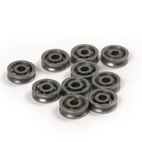Wholesale Steel Bearing Pulleys - Wholesale- Hot High Quality High Carbon Steel 10PCS Model 630VV 3*10*3mm Deep Groove Ball Bearings Rust & wear resistant for pulley bearing