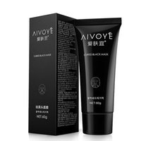 Wholesale Oily Skin Aging - AFY AIVOYE Suction Black Mask Deep Cleansing Face Mask Tearing Resist Oily Skin Strawberry Nose Black Mud Face mask