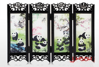 Wholesale cheap style Chinese style traditional crafts Chinese antique small screen Decoration