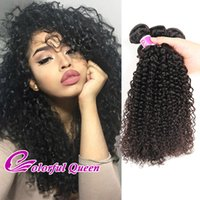 Malaisie Cheveux 4 Bundles Afro Kinky Curly 7A Tracés Kinky Curly Malaisie Vierge Cheveux Humains Cheveux Crochet Braid Hair Extensions 8-26 Inch