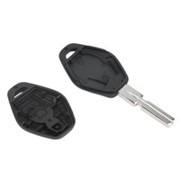 capa da chave x5 venda por atacado-Remoto de substituição da chave do carro shell fob case capa para bmw 3 5 7 SÉRIE Z3 Z4 X3 X5 M5 325i E38 E39 E46 3 Botão