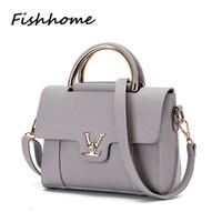 Wholesale Handbag Satchel - Wholesale- Women Bag 2016 New Feminina Luxury Handbags Women Bags Designer Shoulder Bag LST068