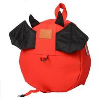 Wholesale Baby B Bag - 2017 anti-lost package children backpack fashion wild shoulder bag cartoon baby wings b kindergarten primary school bag