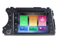Wholesale Dvd Actyon - Navirider octa core android 6.0 car dvd player for Ssangyong Korando Action Cyron Actyon gps navi radio audio stereo 3G wifi dvr head units