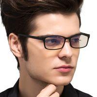 Wholesale laser tungsten - TUNGSTEN CARBON Computer Goggle Anti Blue Laser Fatigue Radiation-resistant Reading Glasses Frame Eyeglasses Oculos de grau 1310