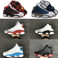 Wholesale High Quality s Basketball Shoes Leather s Black Toe s Bred Navy Game Grey Toe Flint Grey Sneakers
