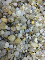 Wholesale Natural Art Materials - 200g great Natural Assorted sale Tumbled Stone Polished Aquatic Plants Agate Crystal Planting Aquarium Fish Tank Materials Decor Stone