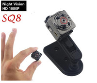 SQ8 Mini Camera 1080P 720P HD Kamera 12M Infrared Night Vision Micro Camera Sensor de movimento Mini DV DVR Camcorder Webcam menor