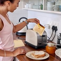 Wholesale Sandwiches Bags - Reusable Toaster Bags Grilling Bag Non FUSS-NO MESS BBC Microwave Oven Bag Not Sticky Toast Poke Toastabags Make A Perfect Toasted Sandwich