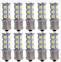 Wholesale Green 1157 Led - 100PCS 1156 1157 18SMD P21W LED Brake Tail Turn light Signal Light Bulb Rear Lamp wholesale
