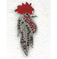 Wholesale Rooster Pins - Wholesale Fashion Brooch Rhinestone Enamel Rooster Pin brooches C101076