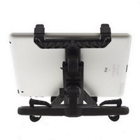 Wholesale Universal Headrest - Wholesale-Universal Car Back Seat Headrest Mount Holder Stand Bracket Kit For Samsung Galaxy Tab 10.1 Tablet For iPad Mini 4 3 2
