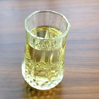 Stocked spirit cups - glass Diamonds Beer Cups Transparent Whiskey Cups Transparent Crystal Whiskeys spirits junice eight glass Octagonal cup