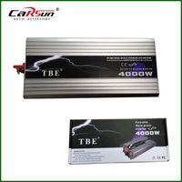 Wholesale Home Power Inverter - Wholesale- 4000Watt 4000W USB DC12V 24V 48V To AC110V 220V Power Inverter Pure Sine Wave Solar Inverter For Home Car Boat Wine Gas