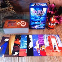 Wholesale Pc Games Children - DIXIT Expansion Version Illustration ,110 PCS Cards Educational Cards Game For Children Family Board Game With Free Shipping